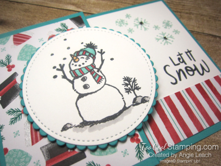 Let it snow gift card holder - bermuda 3