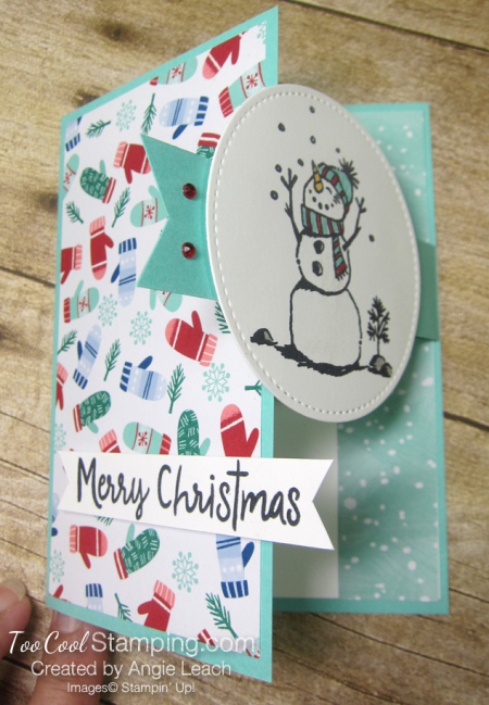 Let it snow interlocking card - pool 4