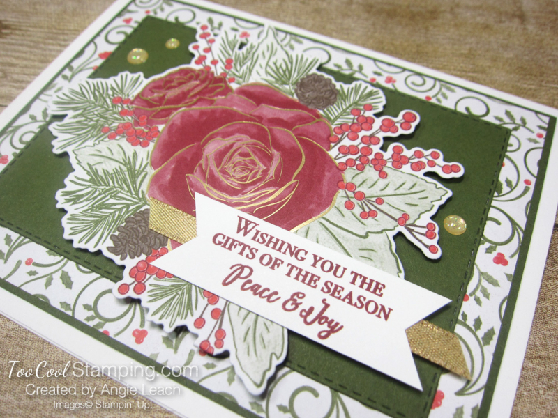 9 christmastime is here - swirly with die-cut 2