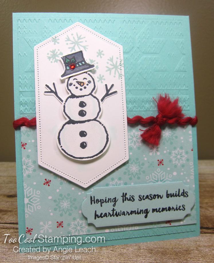 Snowman season heartwarming - buider pool
