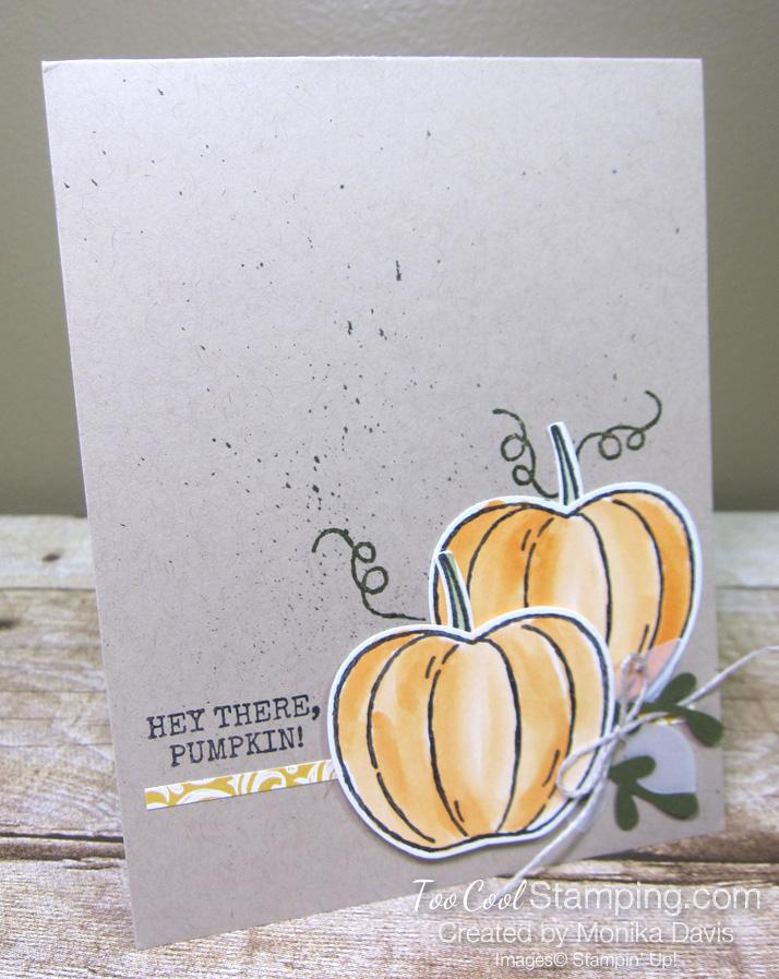 Harvest Hellos pumpkin - monika davis 1