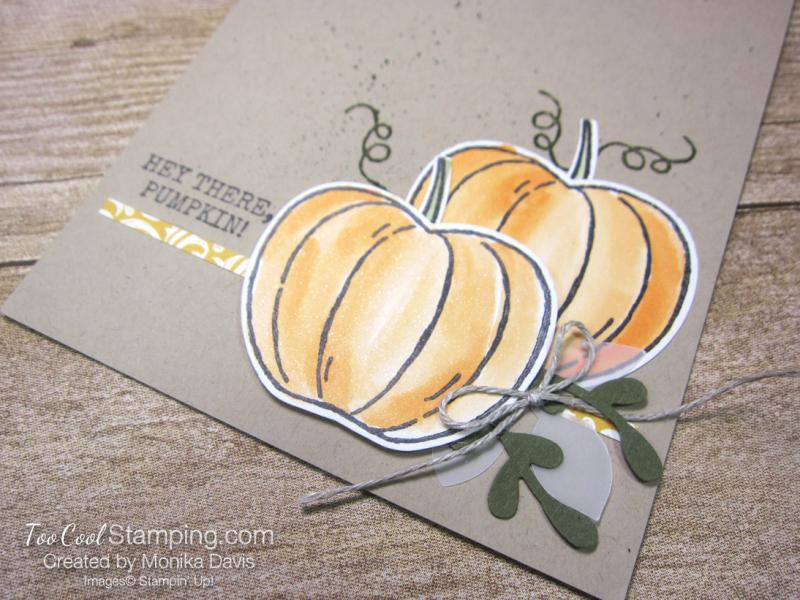 Harvest Hellos pumpkin - monika davis 2