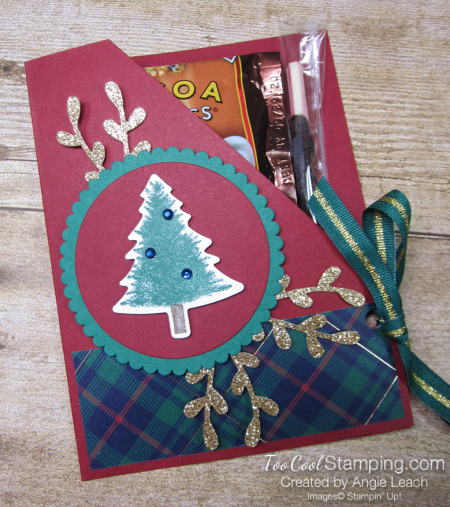 Perfectly Plaid Cocoa Pouch - 1