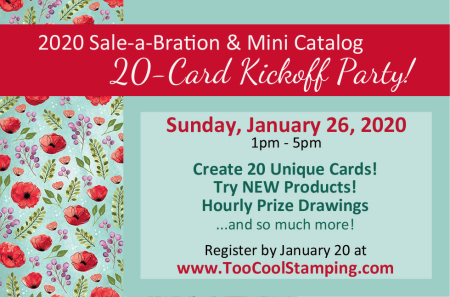 2020 Sale-a-Bration & Mini Catalog Kickoff Banner