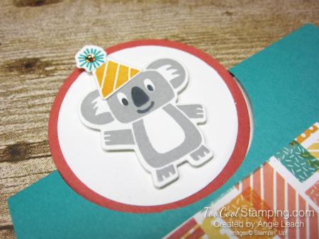 Birthday bonanza circle fold - koala 3