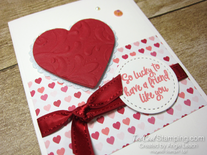 From My Heart gift set - Lucky to have friend card 2
