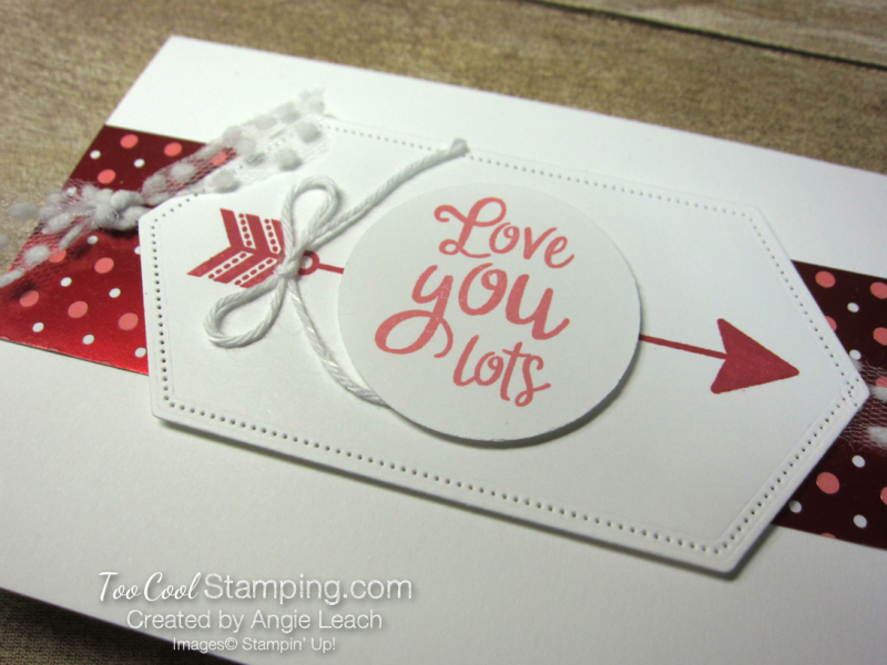From My Heart gift set - love you lots card 2