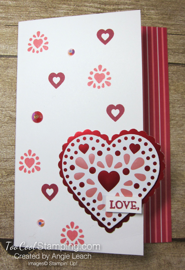 From My Heart gift set - Love card 1
