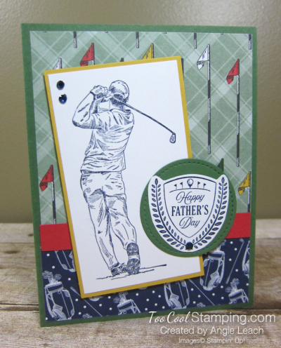 Clubhouse navy golfer - fathers day 1