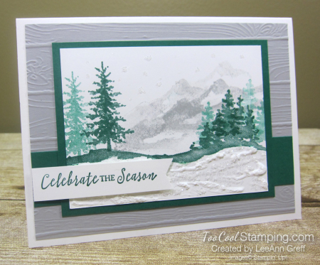 Snow front celebrate the season - leeann greff