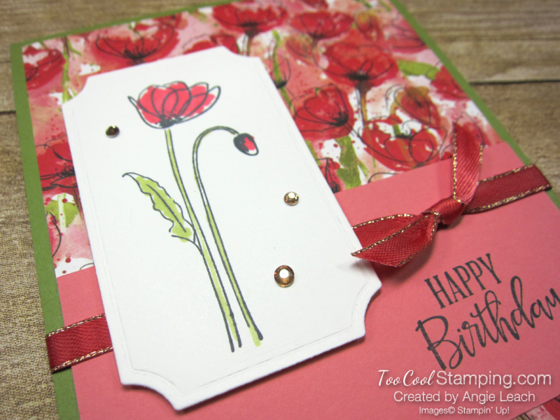 Painted labels - birthday 3
