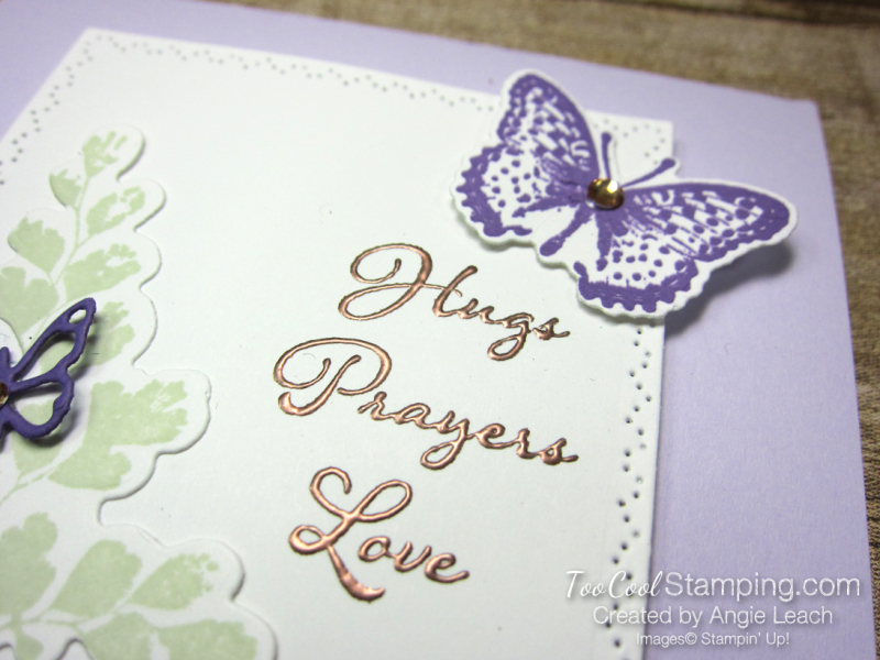 Positive Thoughts gingham copper - heather 4