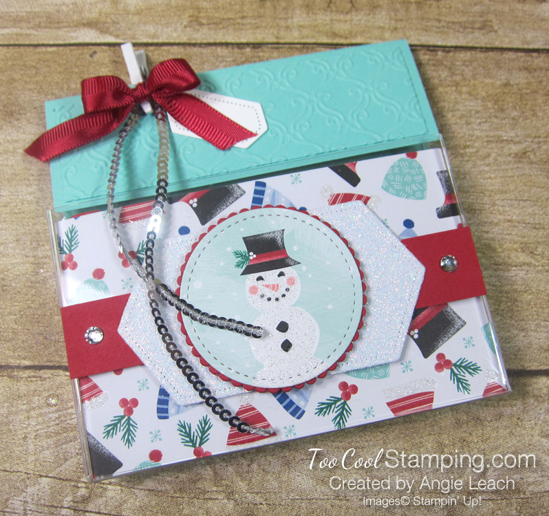 Let it snow kit kat holders - with hat