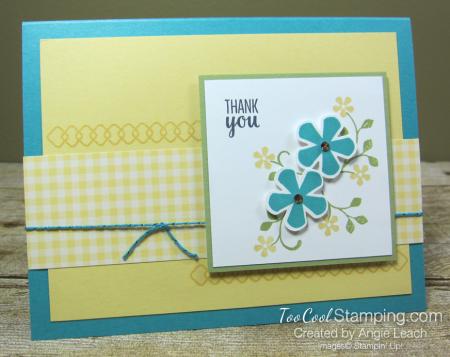 Thoughtful blooms thank you - bermuda 1