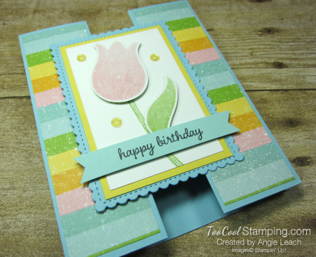 Pleased as punch tulip gate fold - balmy blue 2