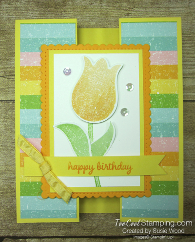 Pleased as punch tulip gate fold - daffodil 1