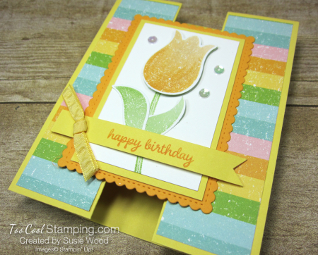 Pleased as punch tulip gate fold - daffodil 2