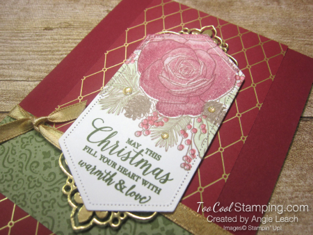 8 christmastime is here - nested label stamp off 2