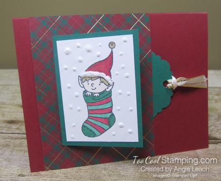 Elfie flip card 1