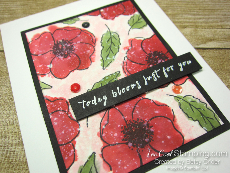 Painted poppies watercolor - crider 2