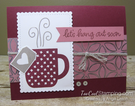 Rise & Shine with Flowering Foils - hang out