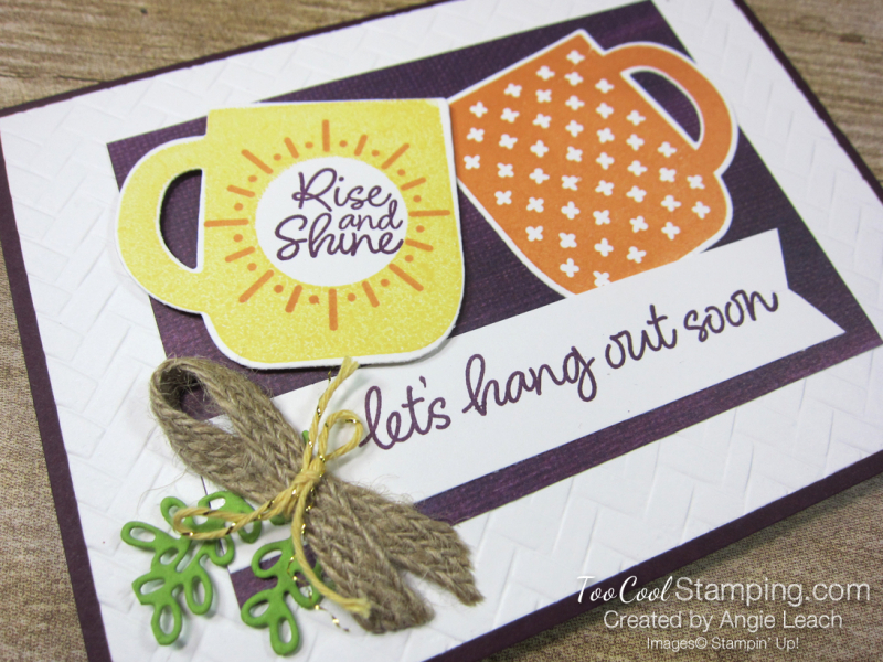 Rise & shine hang out - barto 2