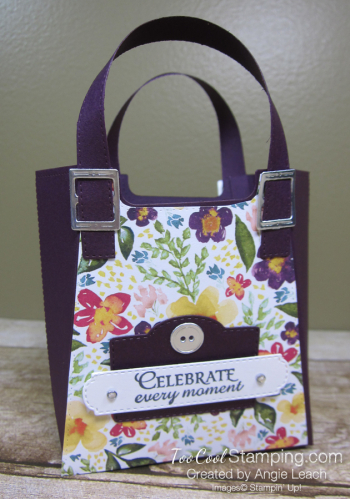 Best dressed tote - blackberry bliss