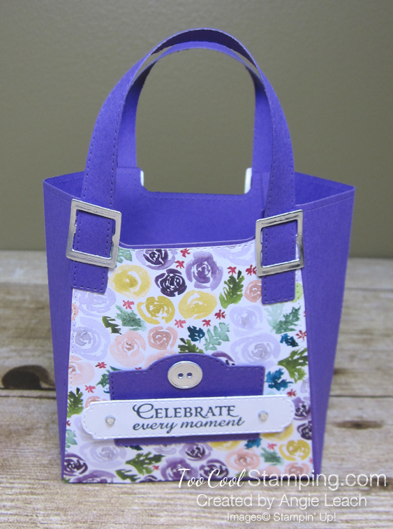 Best dressed tote - gorgeous grape