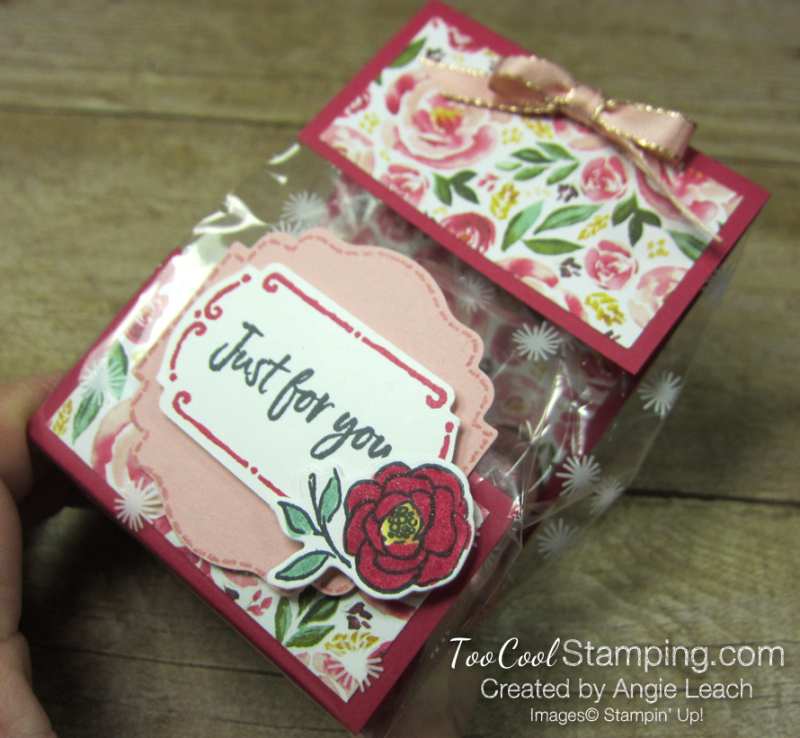 Tags in bloom cello bags - lovely lipstick 5