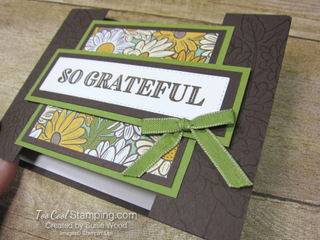 Ornate Garden Bridge Card - wood 3