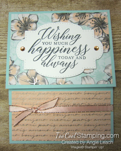 So Sentimental Happiness Gift Card Holder - parisian 1