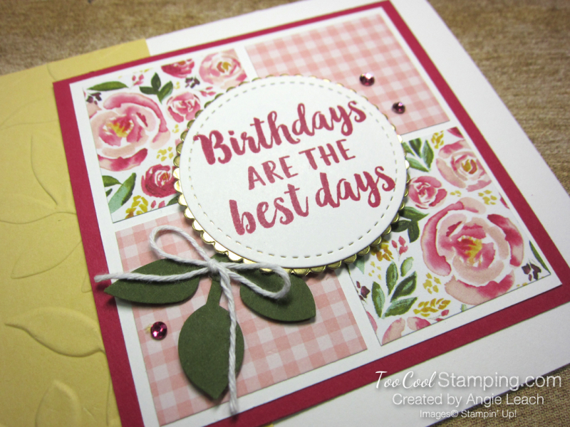 Best dressed birthdays are best squares - lovely 2