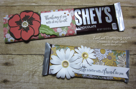 Ornate garden chocolate bar - two cool bar