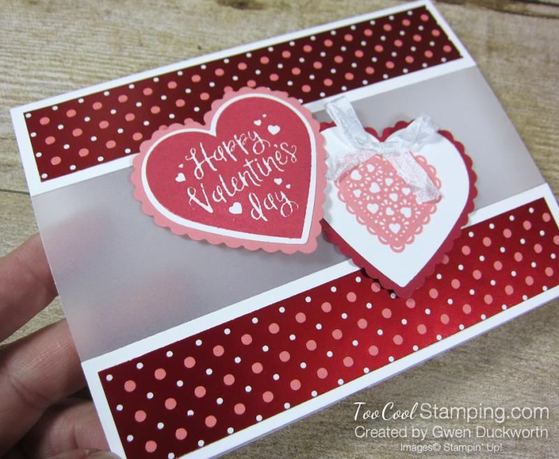 Heartfelt hearts with vellum - duckworth 2
