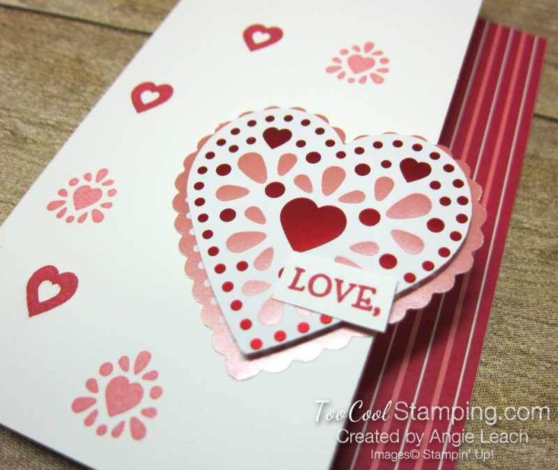 From My Heart gift set - Love card 2