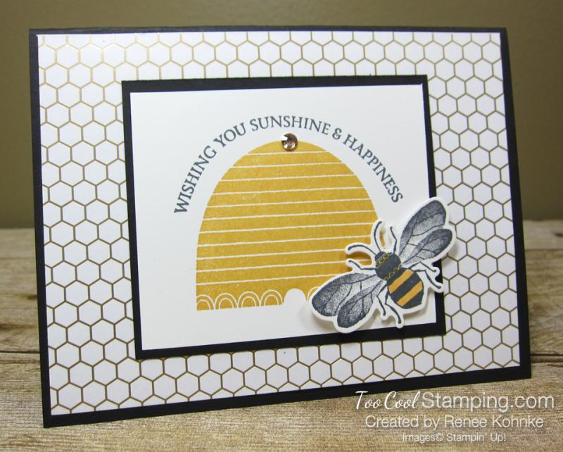 Honey bee sunshine wishes - kohnke 1