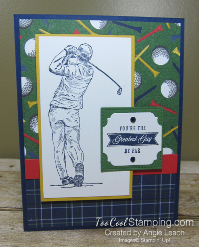 Clubhouse navy golfer - greatest guy 1