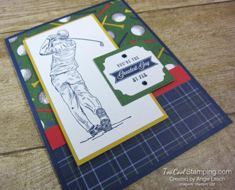 Clubhouse navy golfer - greatest guy 2