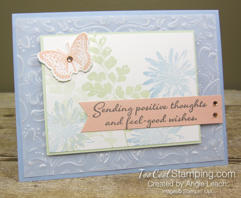 Positive thoughts vellum - seaside