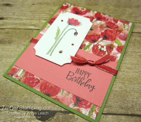Painted labels - birthday 2