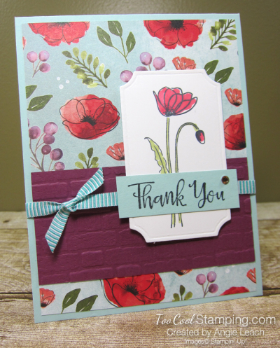 Painted labels - thank you