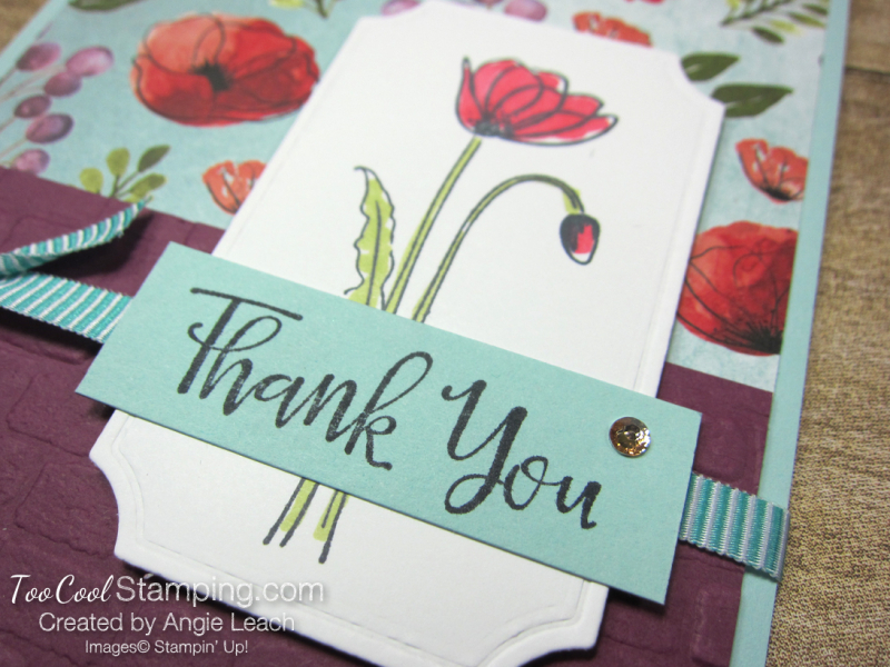 Painted labels - thank you 3