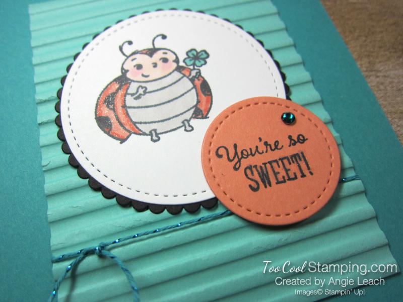 Little Ladybug with flower - bermuda 3
