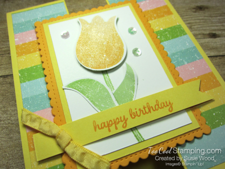 Pleased as punch tulip gate fold - daffodil 3