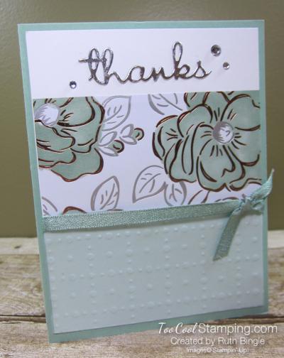 Flowering Foils Thanks - bingle