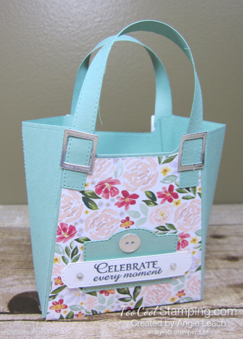 Best dressed tote - mint macaron