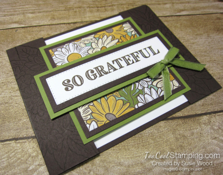 Ornate Garden Bridge Card - wood 2