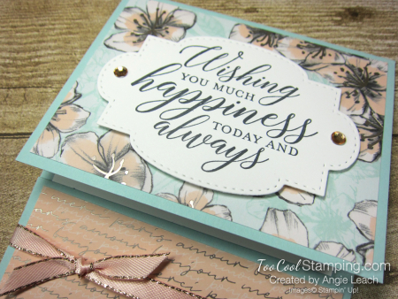 So Sentimental Happiness Gift Card Holder - parisian 3