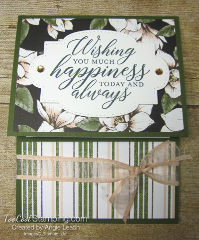 So Sentimental Happiness Gift Card Holder - magnolia 1