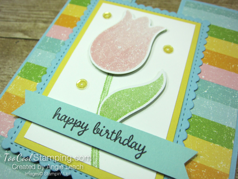 Pleased as punch tulip gate fold - balmy blue 3